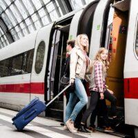 Anreise im Hauptbahnhof