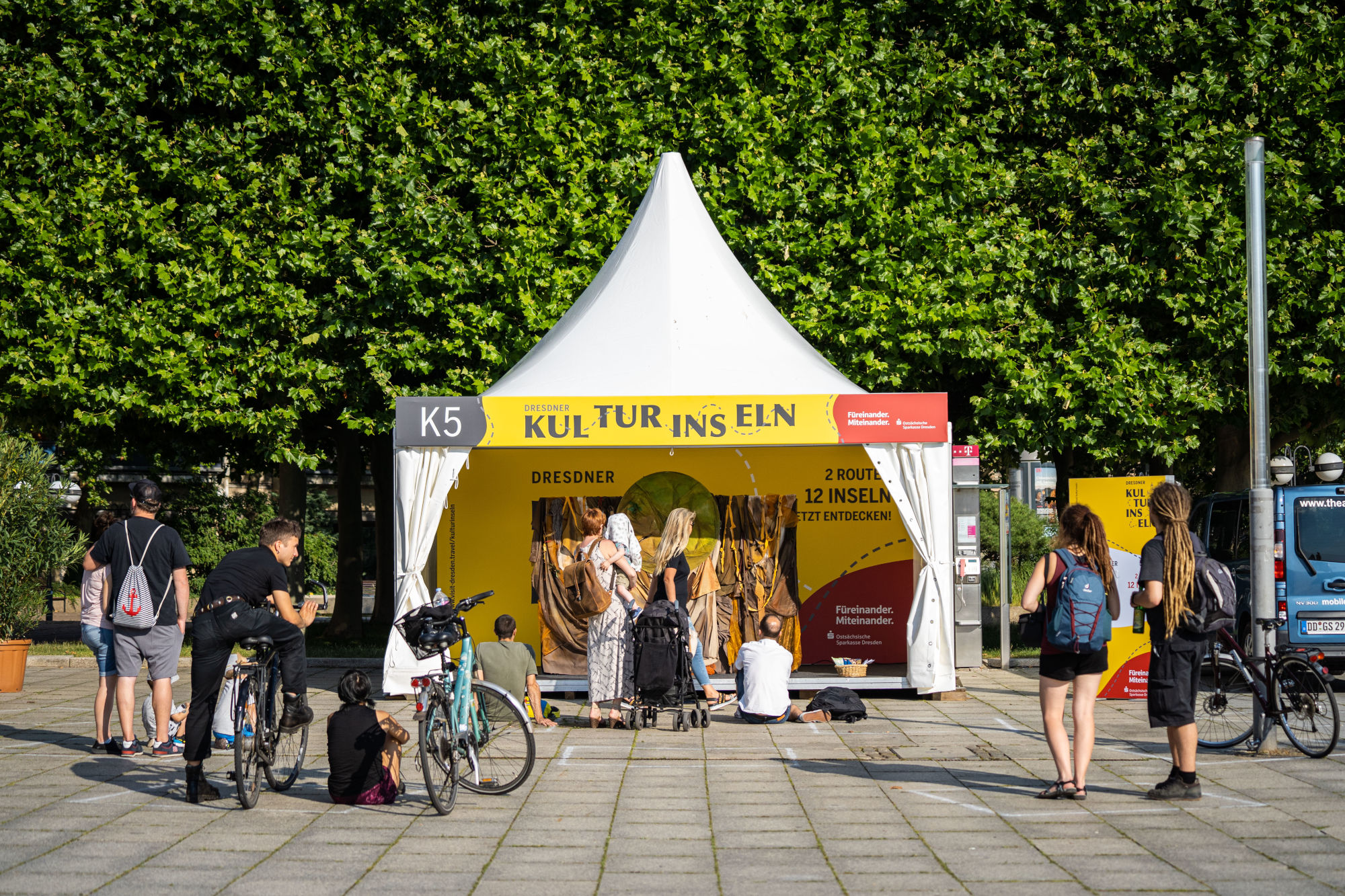Dresdner Kulturinseln Goldener Reiter