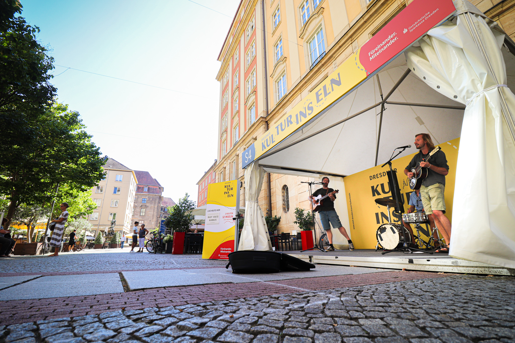 Dresdner Kulturinseln Künstler
