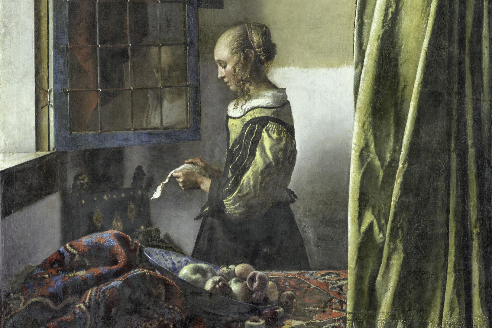 Vermeer Brieflesendes Mädchen am Fenster