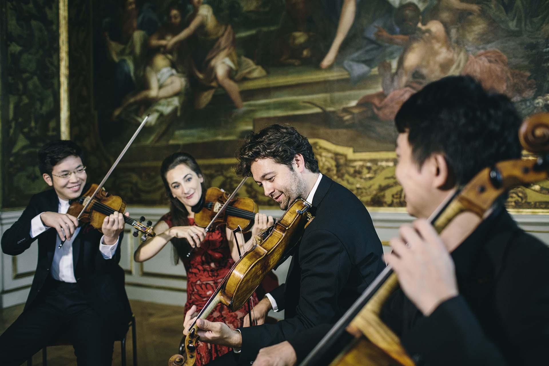 Musikfestspiele Moritzburg Dresden quartett
